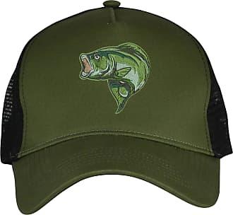 Bang Tidy Clothing Bass Fishing Hat Snapback Baseball Cap Fish Hats Gifts for Men Women