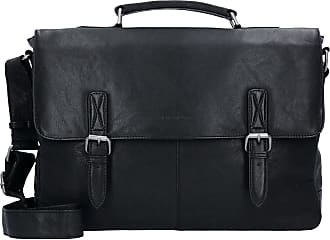 81f7e902be8ad Greenburry Oily Tumbled Messenger Bag Aktentasche Leder 40 cm Laptopfach