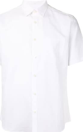 Durban button up short-sleeved shirt - Branco