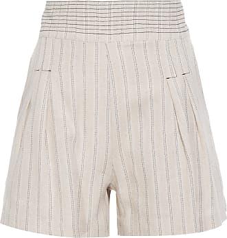 Lebôh Shorts Clássico Com Pregas Lebôh - Bege