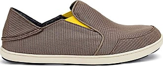 Olukai New Mens Nohea Mesh Slip On Rock/Canoe 11