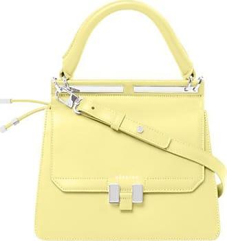 Maison Héroïne Handtasche Damen, Marlene Tablet Mini, Lemon Glaze