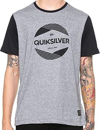 ca9ac626f7013 Quiksilver Camiseta Quiksilver Especial Pack Avant Cinza