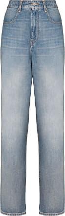 Isabel Marant Calça jeans cintura alta Corsy - Azul