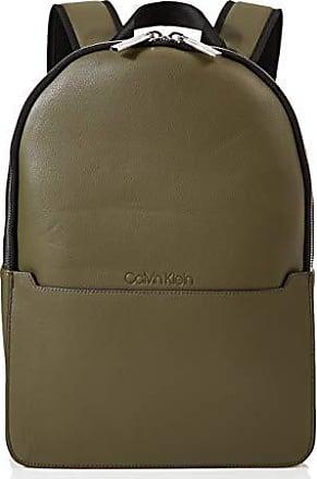 fb7d4c955f3541 Calvin Klein Sliver 2g Round Backpack - Zaini Uomo, Verde  (CamouflageFluoYellow), 1x1x1