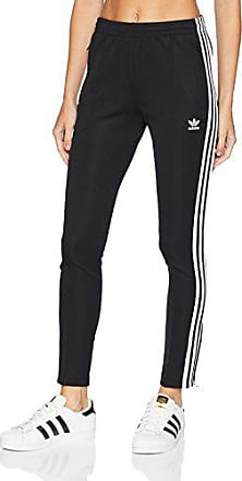 Details zu Adidas Original Damen Superstar Schmal Mode Jogginghose Zigaretten Schwarz