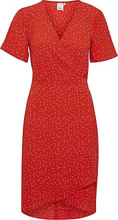 Ichi Helles Kleid - M - Red/White