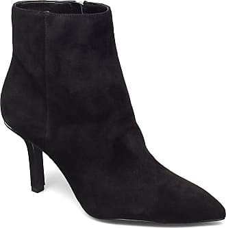Michael Kors Katerina Bootie Shoes Boots Ankle Boots Ankle Boots With Heel Svart Michael Kors Shoes
