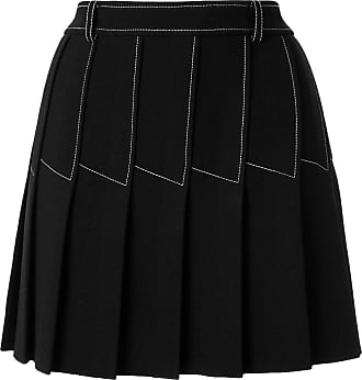 Dion Lee Column Pleat Mini skirt - Black
