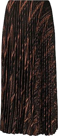 M Missoni metallic knit pleated skirt - Preto