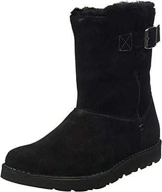 9bd47a05f0d3b9 Birkenstock Shoes Westford Damen Stiefel Schwarz (Black Lammfell) 39 EU