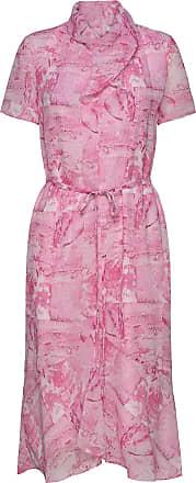 tiger klänning rosa