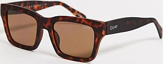 Quay Quay Square Frame Sunglasses In Tort-Brown