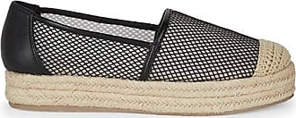 Karl Lagerfeld Adila Leather Platform Espadrilles