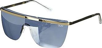 Quay Eyeware Quay x JLo Get Right (Gold/Silver) Fashion Sunglasses