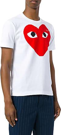 Comme Des Garçons HEART LOGO T-SHIRT - Comme Des Garcons Play - Man