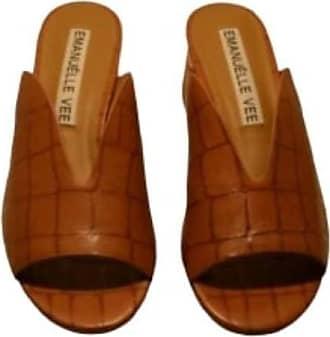 Generico Generic Mule EMANUELLE Vee Brown Size: 8.5 UK