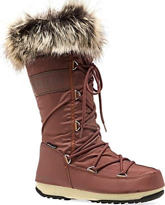 Womens Tecnica Moon Boot Pulse Chalet Faux Fur Winter Waterproof Boots