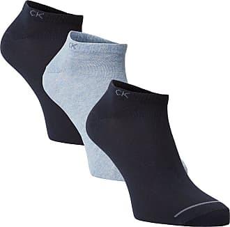 Calvin Klein Herren Sneakersocken im 3er-Pack blau
