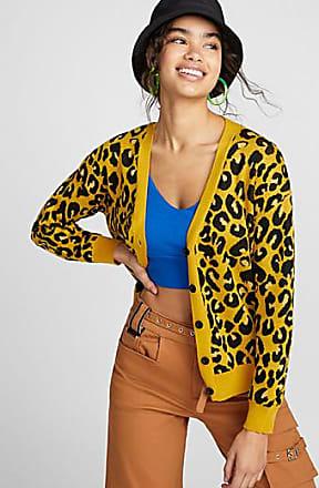 Twik Golden leopard cardigan