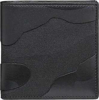 Valentino Garavani Valentino Garavani Uomo Camouflage Noir Wallet Man Black Lambskin 40%, Cotton 32%, Polyester 28% OneSize