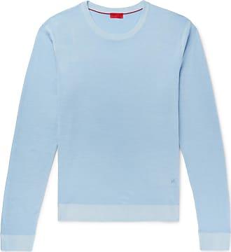 Isaia Merino Wool Sweater - Blue