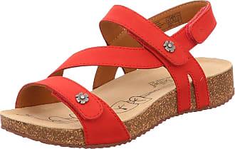 Josef Seibel Tonga 53 Womens Sandals Red Size: 7 UK