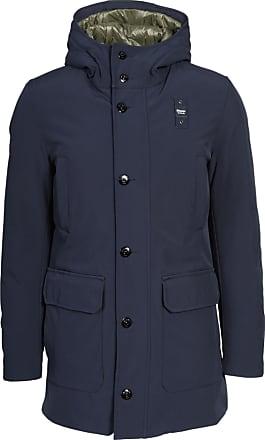Blauer Herren Jacke in Dunkelblau XL