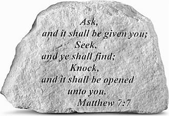 Kay Berry Ask And It Shall Be Given Garden Stone - 41720