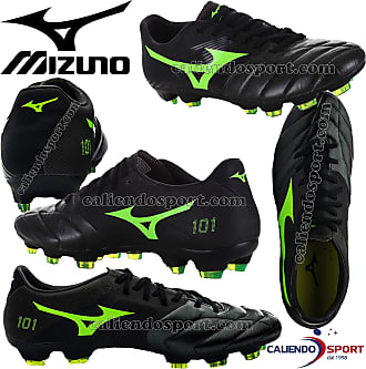 new products 7e071 a2bd5 Mizuno Basara 101 K Leather FG Football Boots - Size 7 Black