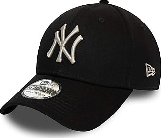 New Era New York Yankees 39thirty Adjustable Cap League Essential Black/Grey - M - L