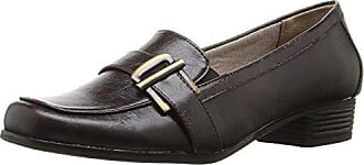 0ee6d7515b1 Life Stride Womens Bounty Slip-On Loafer Dark Brown 8 M US