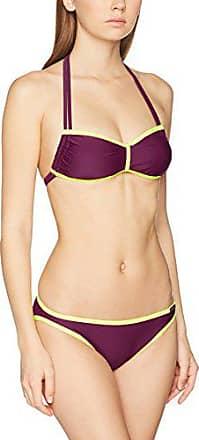 bikini damen dunkelrot