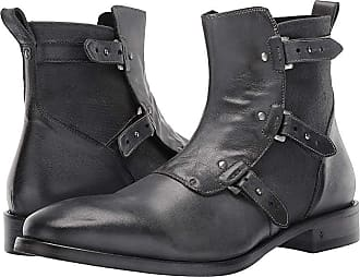 7ef2e0a87ed1 John Varvatos Fleetwood Pin Strap Boot (Lead) Mens Dress Boots