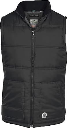 Duke London Mens Duke D555 Big Size Padded Quilted Fleece Lined Gilet Bodywarmer Jacket 3XL Black