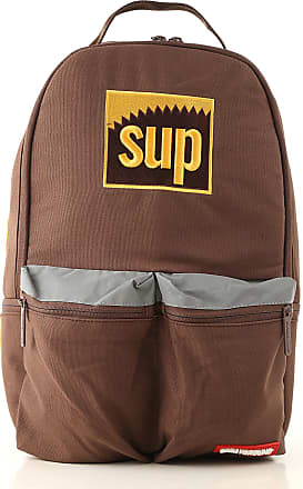 Sprayground Backpack for Men, Brown, Canvas, 2017, one size