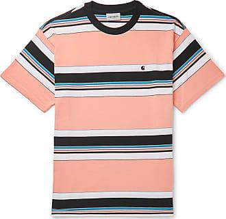 3c18173da Carhartt Work in Progress Ozark Striped Cotton-jersey T-shirt - Orange