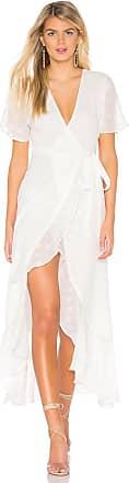 Privacy Please Alaina Maxi Dress in White