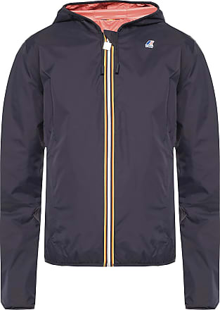 K-Way Hooded Rainjacket Womens Navy Blue