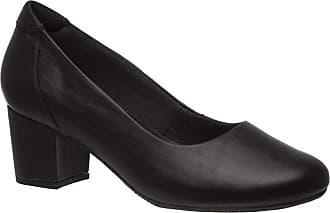 Doctor Shoes Antistaffa Sapato Feminino 278 em Couro Preto Doctor Shoes-Preto-37