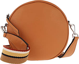Gianni Chiarini Tamburello Handbag Leather Tajin Umhängetasche cognac