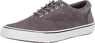 Sperry Top-Sider Mens Striper II CVO Washable Sneaker, Grey, 160 M US
