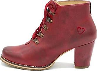 brand new c4aa5 7fdc0 Schnürstiefel für Damen in Rot: Jetzt bis zu −51% | Stylight