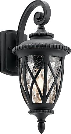 Kichler Admirals Cove Outdoor Wall 1 Light in Textured Black