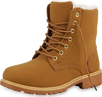 Scarpe Vita Women Bootee Worker Boots Warm Lined Zipper Tread Sole 130468 Light Brown UK 5.5 EU 39