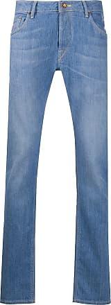 Hand Picked Calça jeans reta Orvieto - Azul