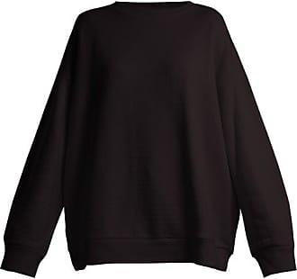 Raey Crew-neck Japanese-jersey Sweatshirt - Womens - Black