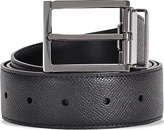 Salvatore Ferragamo Double Adjustable black belt