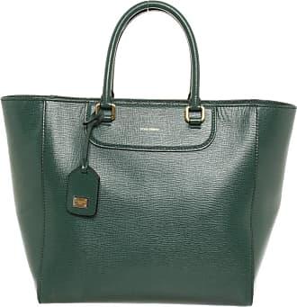 Dolce & Gabbana gebraucht - Dolce & Gabbana-Handtasche aus Leder in Grün - Damen - Leder