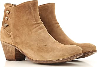 Officine Creative Boots for Women, Booties On Sale, Almond, Suede leather, 2017, 6 7 9